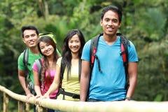 Группа людей совместно стоковое изображение