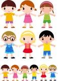 группа детей Стоковые Фото