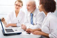 группа докторов Стоковая Фотография RF