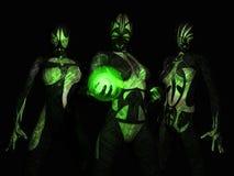 группа cyborg сражения Стоковое Изображение