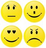 группа emoticon Стоковые Изображения RF