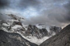 Группа Sella в зиме Стоковые Изображения