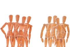 2 группы в составе куклы Стоковое Изображение RF