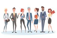Группы команды бизнесмены коллег человеческих ресурсов бесплатная иллюстрация