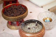 Группы конусов ладана ароматичные коричневые Стоковые Фотографии RF