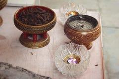 Группы конусов ладана ароматичные коричневые Стоковое Изображение