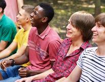 группы люди outdoors Стоковая Фотография