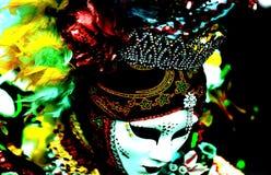 Грустная маска от азиатских аспектов стоковые фото