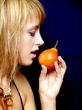 груша девушки бикини Стоковое Изображение RF