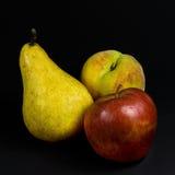 груша персика яблока Стоковая Фотография