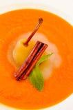 Груша расплавленная в оранжевом варенье Стоковые Изображения