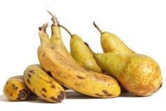 груши бананов экологические Стоковые Изображения