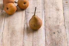 груши деревянные Стоковое Изображение RF