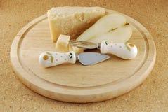 груши пармезана сыра Стоковые Фотографии RF