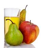груши сока яблока свежие Стоковые Фотографии RF
