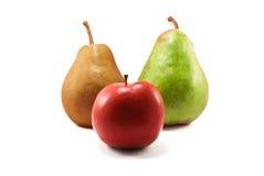 груши яблока Стоковая Фотография