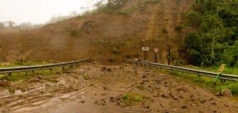 грязевой оползень Стоковое Фото