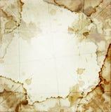 грязная бумага Стоковые Фото