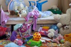 грязная комната Стоковое фото RF