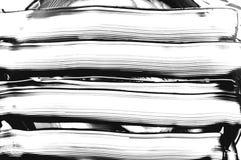 Грязная предпосылка чернил Черным по белому текстура конспект текстурировал стоковое изображение