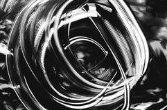 Грязная предпосылка чернил Черным по белому текстура конспект текстурировал стоковые изображения