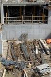 Грязная строительная площадка Стоковые Фото