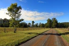грязная улица сельская стоковое фото rf