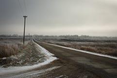 грязная улица Стоковые Фото