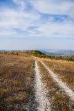 Грязная улица горы Стоковое фото RF