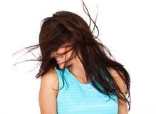 Грязные волосы стоковые изображения