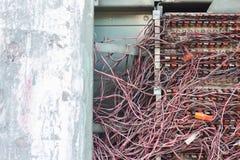 Грязные кабели Стоковая Фотография RF