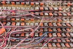 Грязные кабели Стоковое Изображение RF