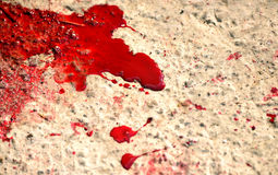Кровь брызгает Стоковое Изображение RF