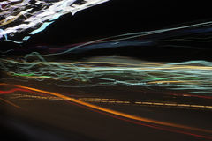 Грязные света Стоковое Фото