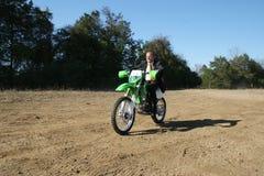 грязь бизнесмена bike Стоковые Изображения
