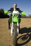 грязь бизнесмена bike Стоковые Фото