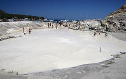 грязь ванны Стоковое Фото