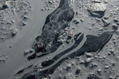 Грязь ледника стоковые изображения rf