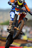 грязь bike Стоковое Изображение RF