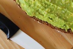 Гуакамоле и хлеб E стоковые фотографии rf