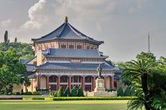 Гуанчжоу, Д-р Hall Сунь Ятсен мемориальный Стоковое Изображение