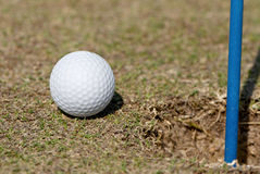 губа гольфа чашки шарового подпятника стоковое изображение rf