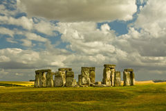 губит stonehenge Стоковое Изображение