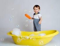 губка младенца Стоковое Изображение