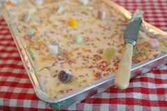 губка партии торта Стоковые Изображения