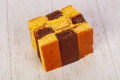 губка торта вкусная Стоковые Изображения