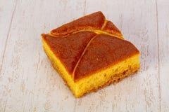 губка торта вкусная Стоковые Фото