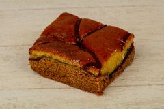 губка торта вкусная Стоковое Изображение RF