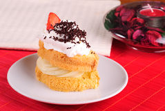 губка торта Стоковые Фото