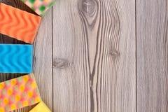 Губки кухни красочные и космос экземпляра Стоковые Изображения